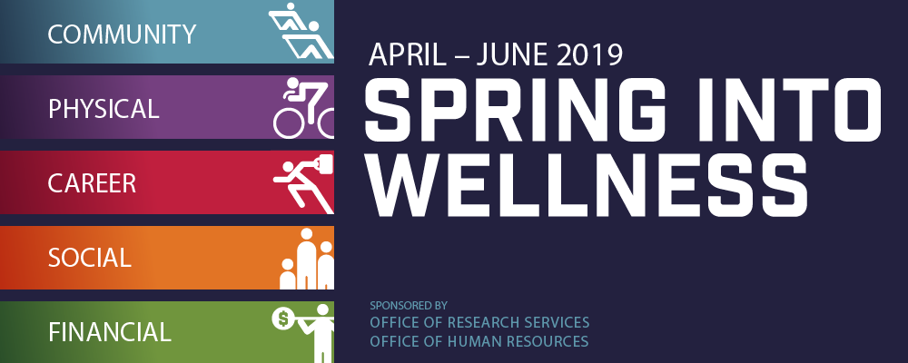 Spring into Wellness Banner